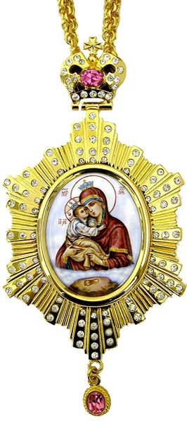 Bishop encolpion panagia no.119