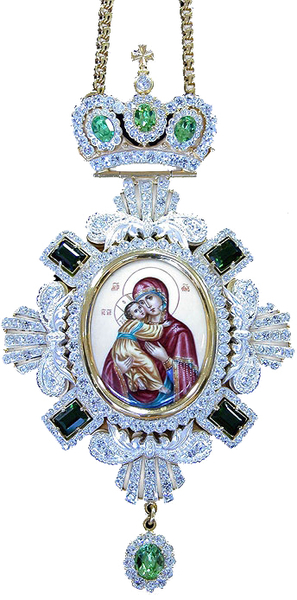 Bishop encolpion panagia no.127