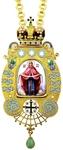 Bishop encolpion panagia no.136