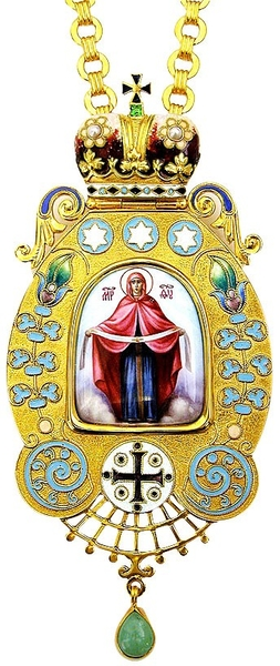 Bishop encolpion panagia no.136