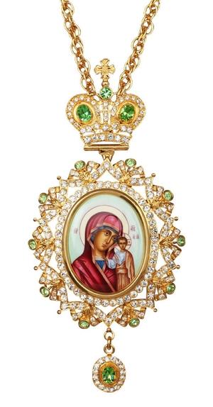 Bishop encolpion panagia no.148