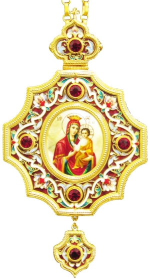 Bishop encolpion panagia no.87