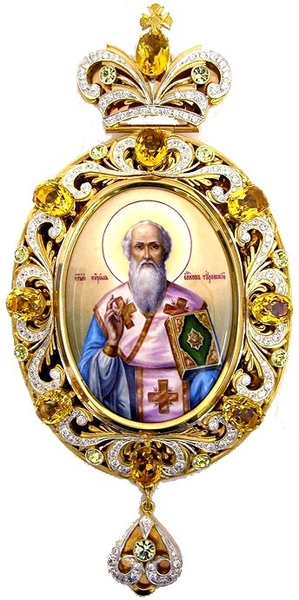 Bishop encolpion panagia no.94