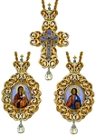 Bishop encolpion panagia set - 12