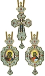 Bishop encolpion panagia set - 14