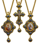 Bishop encolpion panagia set - 15