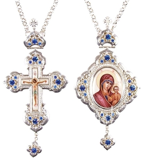 Bishop encolpion panagia set - 18