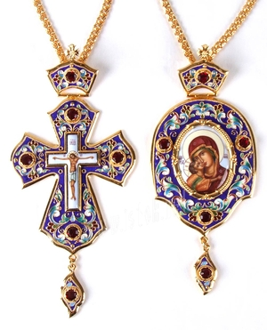 Bishop encolpion panagia set - 2