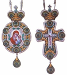 Bishop encolpion panagia set - 25