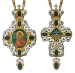 Bishop encolpion panagia set - 31