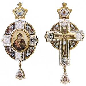 Bishop encolpion panagia set - 32