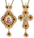 Bishop encolpion panagia set - 33