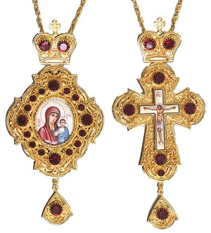 Bishop encolpion panagia set - 33
