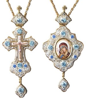 Bishop encolpion panagia set - 34