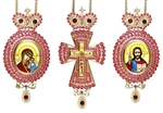 Bishop encolpion panagia set - 37