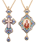 Bishop encolpion panagia set - 40