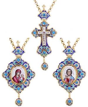 Bishop encolpion panagia set - 40a