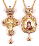 Bishop encolpion panagia set - 41