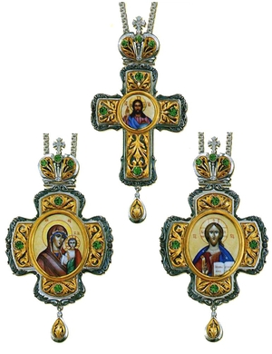 Bishop encolpion panagia set - 5