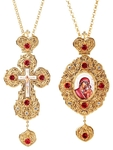 Bishop encolpion panagia set - 53