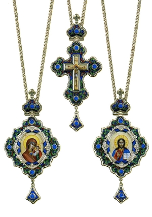 Bishop encolpion panagia set - 6