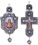 Bishop encolpion panagia set - 8