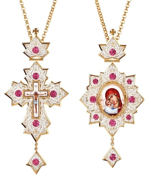 Bishop encolpion panagia set - 82
