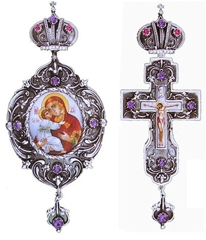 Bishop encolpion panagia set - 9