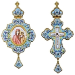 Bishop encolpion panagia set no.11