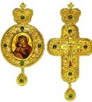 Bishop encolpion panagia set no.15