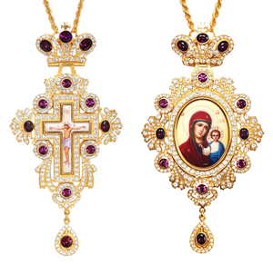 Bishop encolpion panagia set no.167