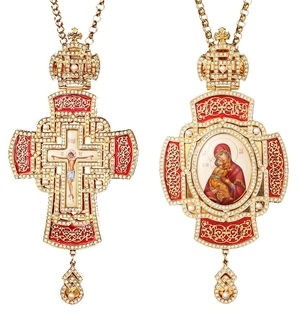 Bishop encolpion panagia set no.183