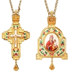 Bishop encolpion panagia set no.98