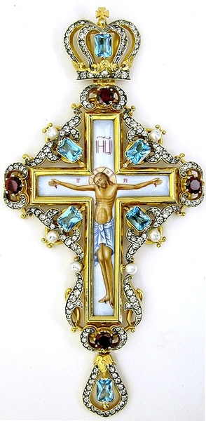 Pectoral chest cross - 134