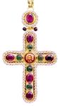 Pectoral chest cross no.126