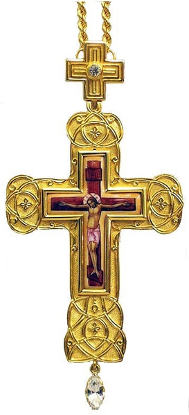 Pectoral chest cross no.135