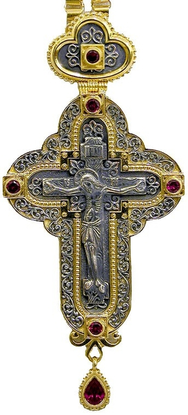 Pectoral chest cross no.155