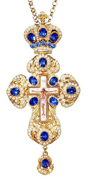 Pectoral chest cross no.158