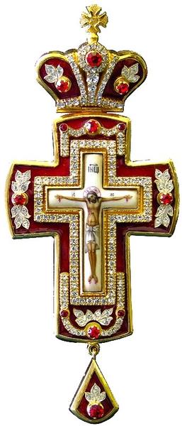 Pectoral chest cross no.161