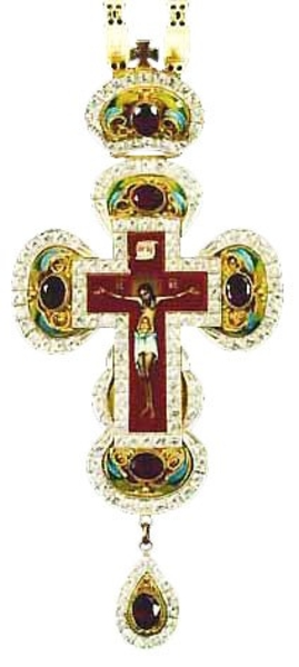 Pectoral chest cross no.9a