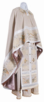 Embroidered Greek Priest vestments - Chrysanthemum (linen)