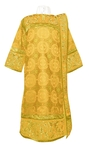 Embroidered Deacon vestments - Iris (yellow-gold)