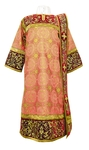 Embroidered Deacon vestments - Iris (red-gold)