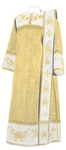 Embroidered Deacon vestments - Chrysanthemum (white-gold)