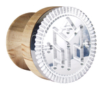 Russian Orthodox prosphora seal Theotokian - 5 (Diam.: 1-3.9'' (25-100 mm))