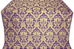 Bryansk metallic brocade (violet/gold)