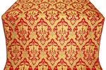 Bryansk metallic brocade (red/gold)
