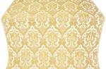 Bryansk metallic brocade (white/gold)