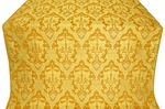 Bryansk silk (rayon brocade) (yellow/gold)