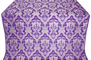 Bryansk silk (rayon brocade) (violet/silver)